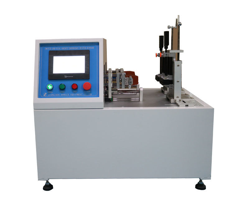 IEC60884 Switch And Plug Socket Tester 2 Linear Stations 7 Inch Touch Screen IEC60669-1 Independently Control