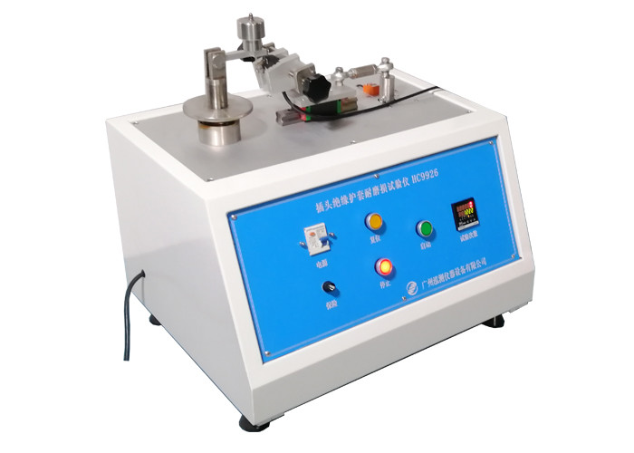 Manual operation Plug Pins IEC 60884 Plug Socket Tester